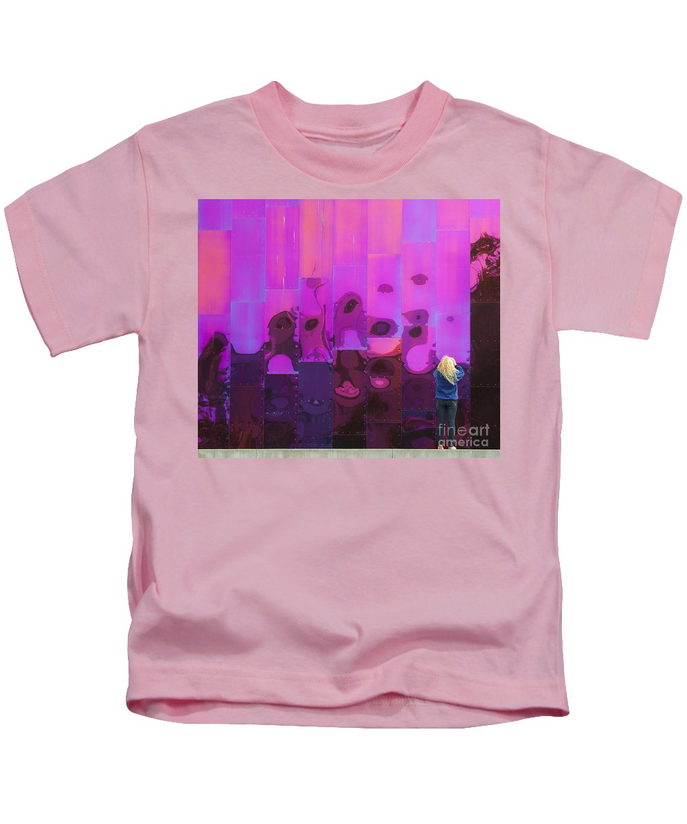 Tourist Kids T-Shirt featuring the photograph Accidental Tourist by Chris Dutton