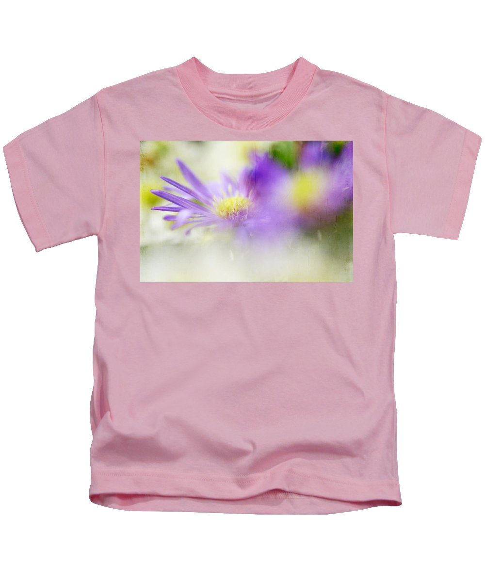 Flowers Kids T-Shirt featuring the photograph Gentle Bliss by Jenny Rainbow
