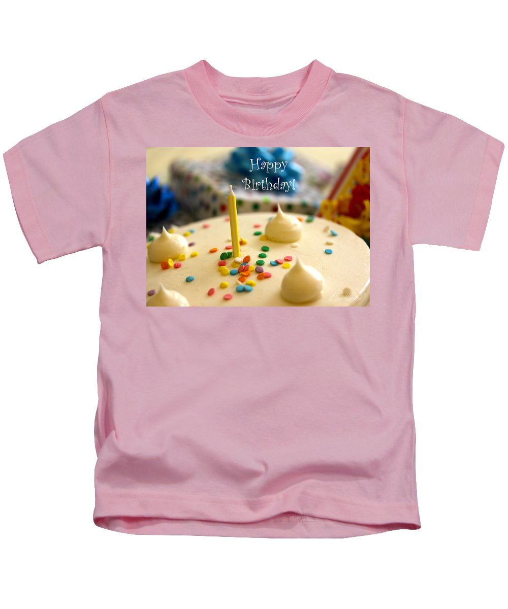 Birthday Kids T-Shirt featuring the photograph Happy Birthday by Diana Haronis
