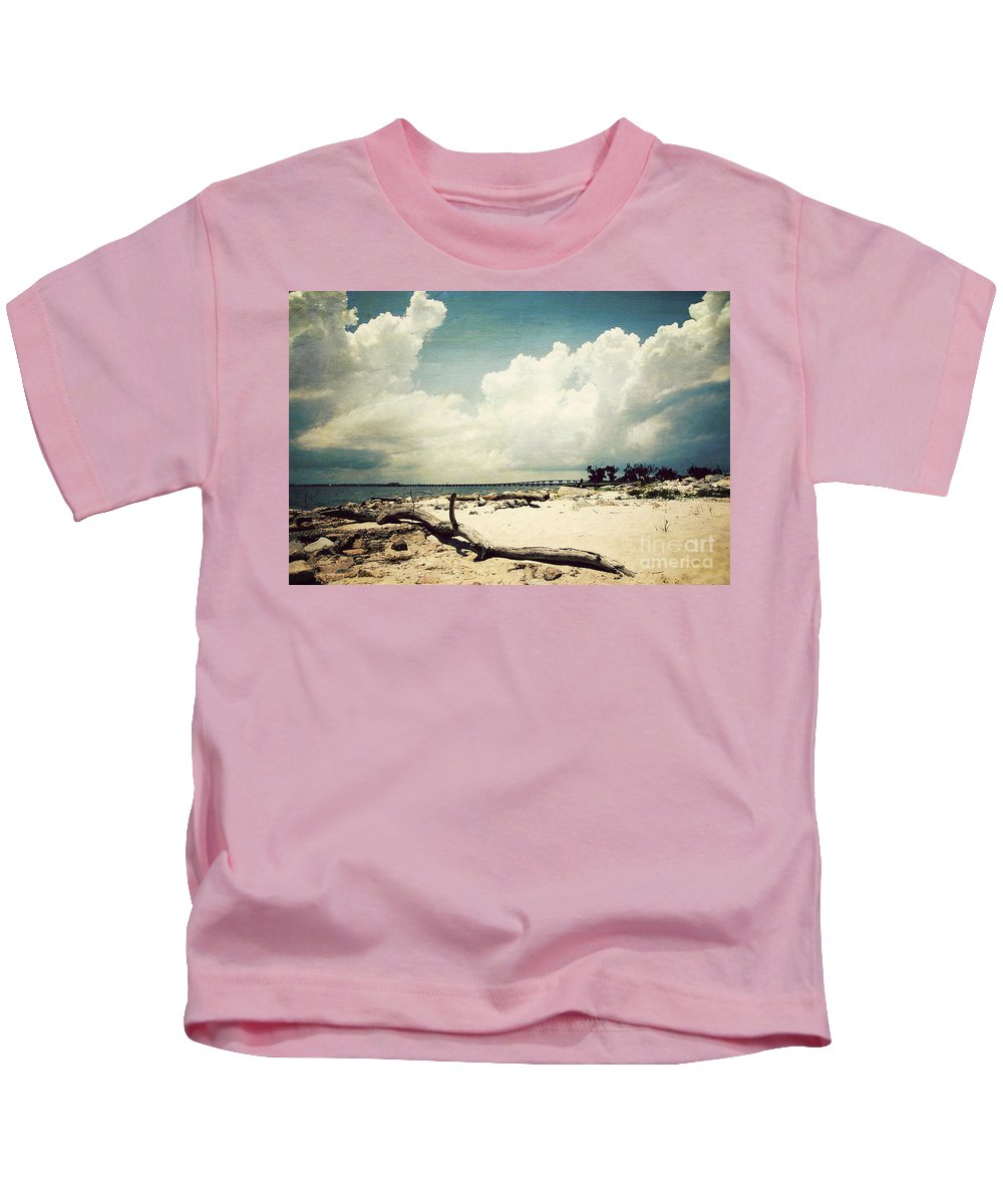 Beach Kids T-Shirt featuring the photograph Henderson Point by Joan McCool