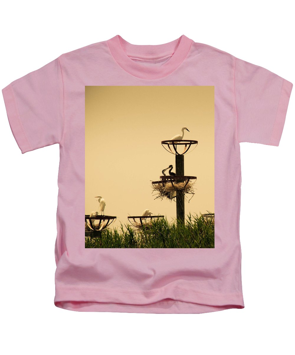 Green Kids T-Shirt featuring the photograph Home Sweet Home by Trish Tritz