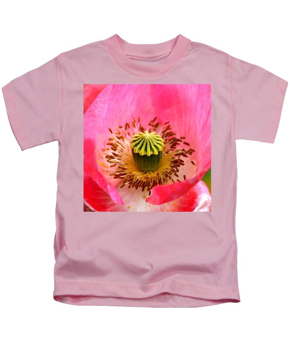 Poppy Kids T-Shirt featuring the photograph Interior Design by Karon Melillo DeVega