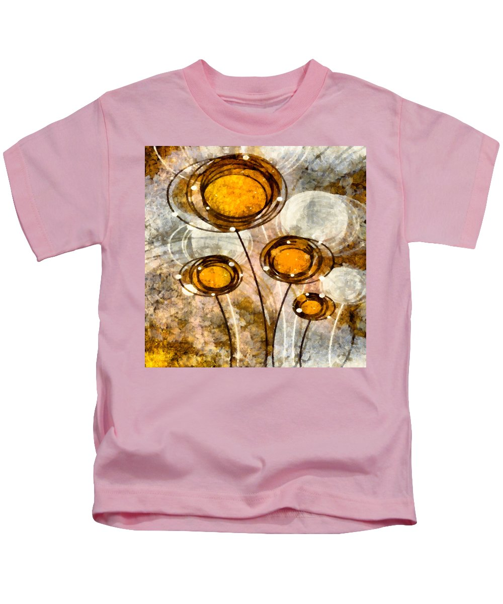 Lolli Kids T-Shirt featuring the mixed media Lollipop 1 by Angelina Vick
