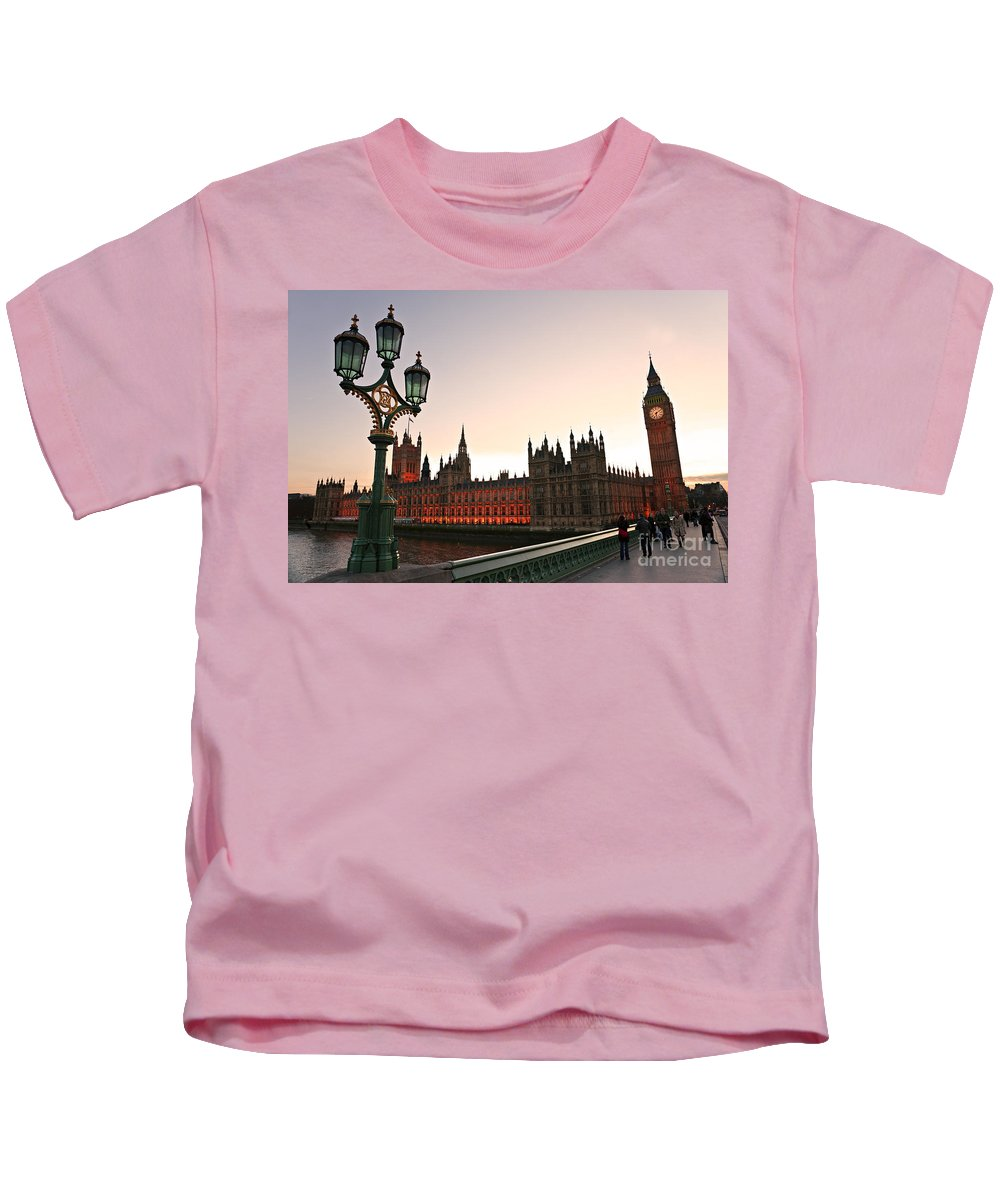 Architecture Kids T-Shirt featuring the photograph London by Luciano Mortula