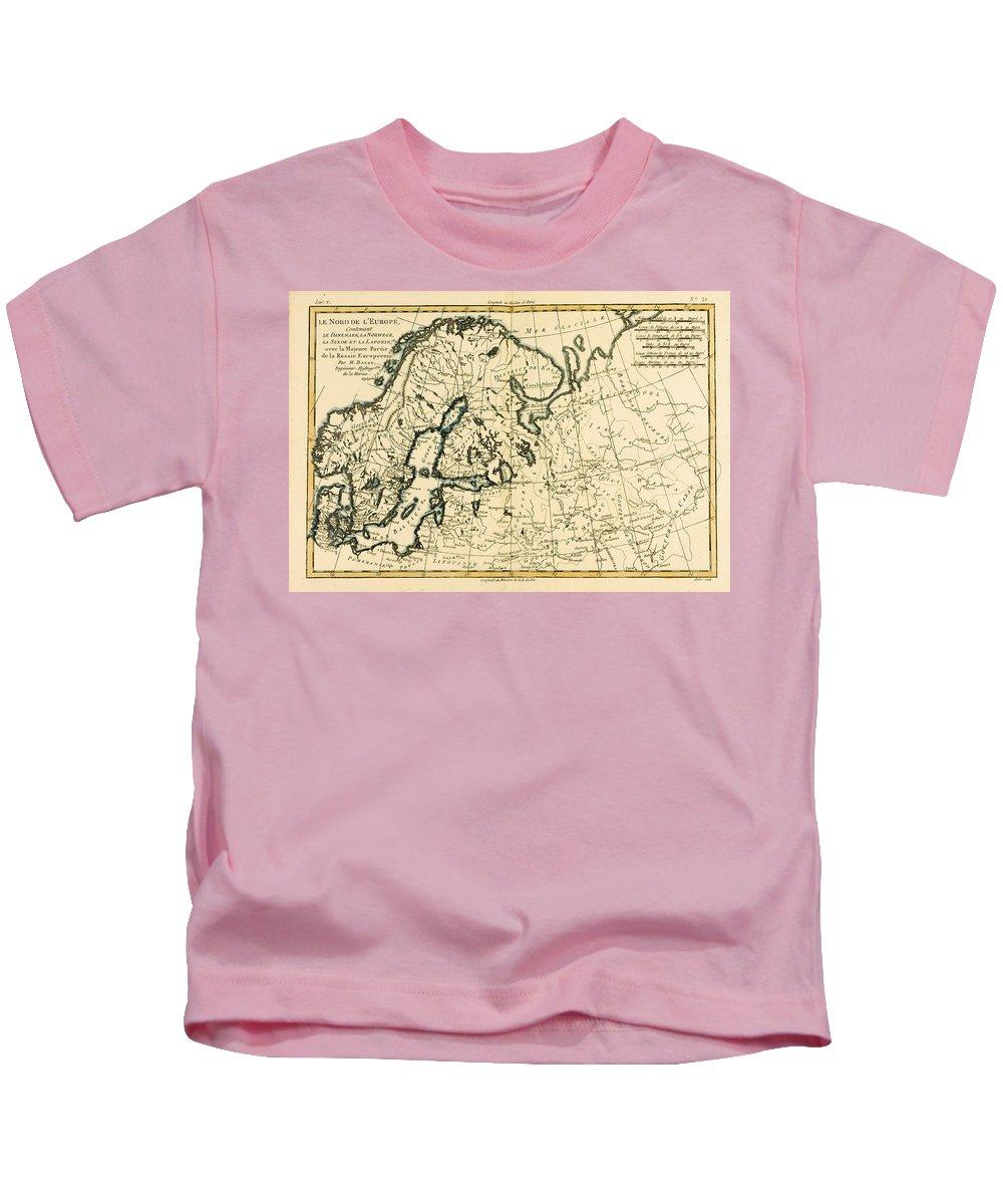 Baltic Sea Drawings Kids T-Shirts