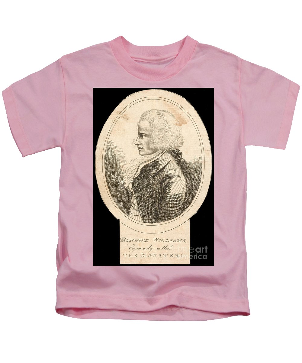 1790 Kids T-Shirt featuring the photograph Rhynwick Williams by Granger