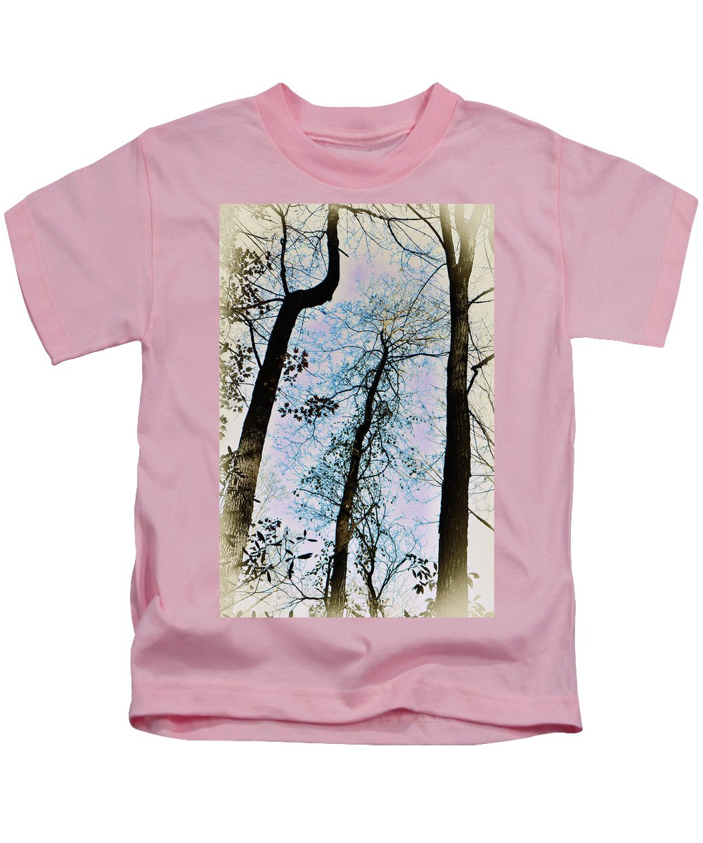 Trees Kids T-Shirt featuring the photograph Things Are Looking Up by Bill Cannon