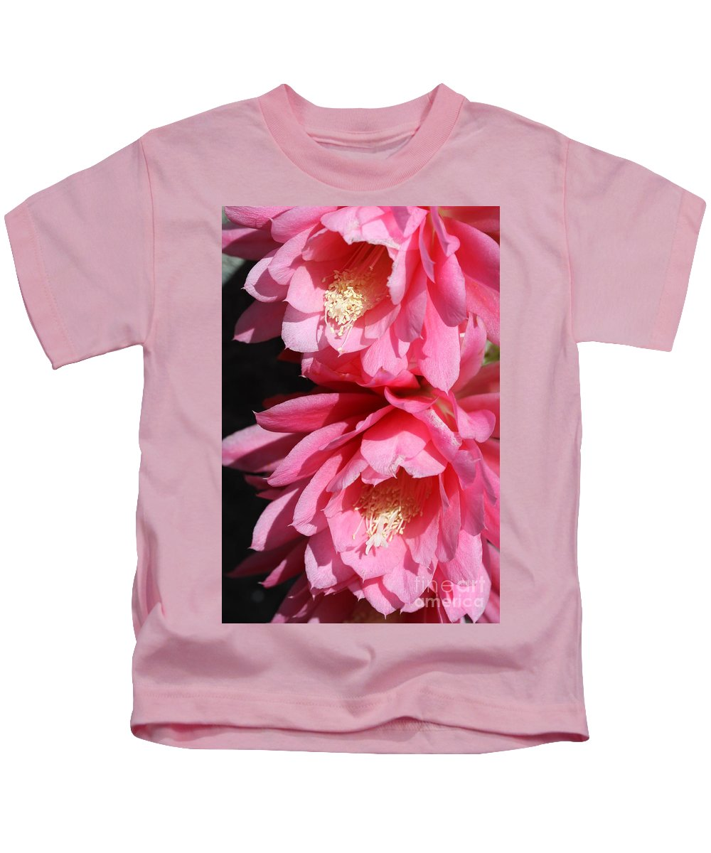 Cactus Kids T-Shirt featuring the photograph Brightness by Christiane Schulze Art And Photography