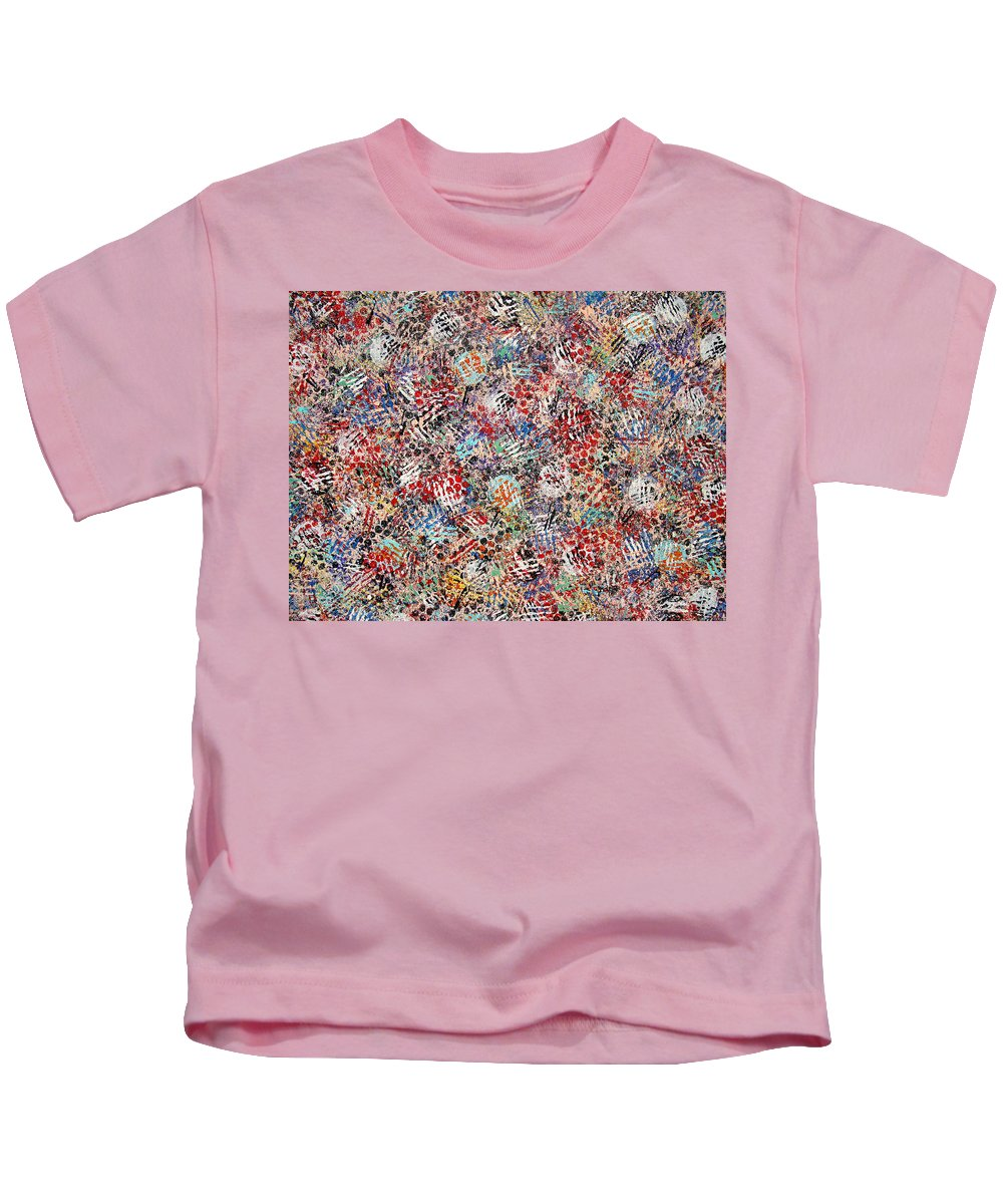 Golf Kids T-Shirt featuring the painting Golf by Natalie Holland