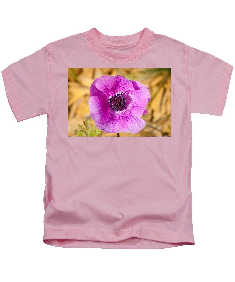 Flower Kids T-Shirt featuring the photograph Anemone by FL collection