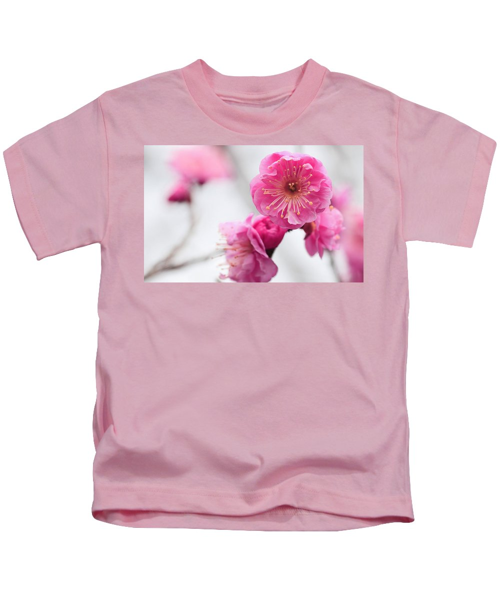 Blossom Kids T-Shirt featuring the digital art Blossom by Dorothy Binder