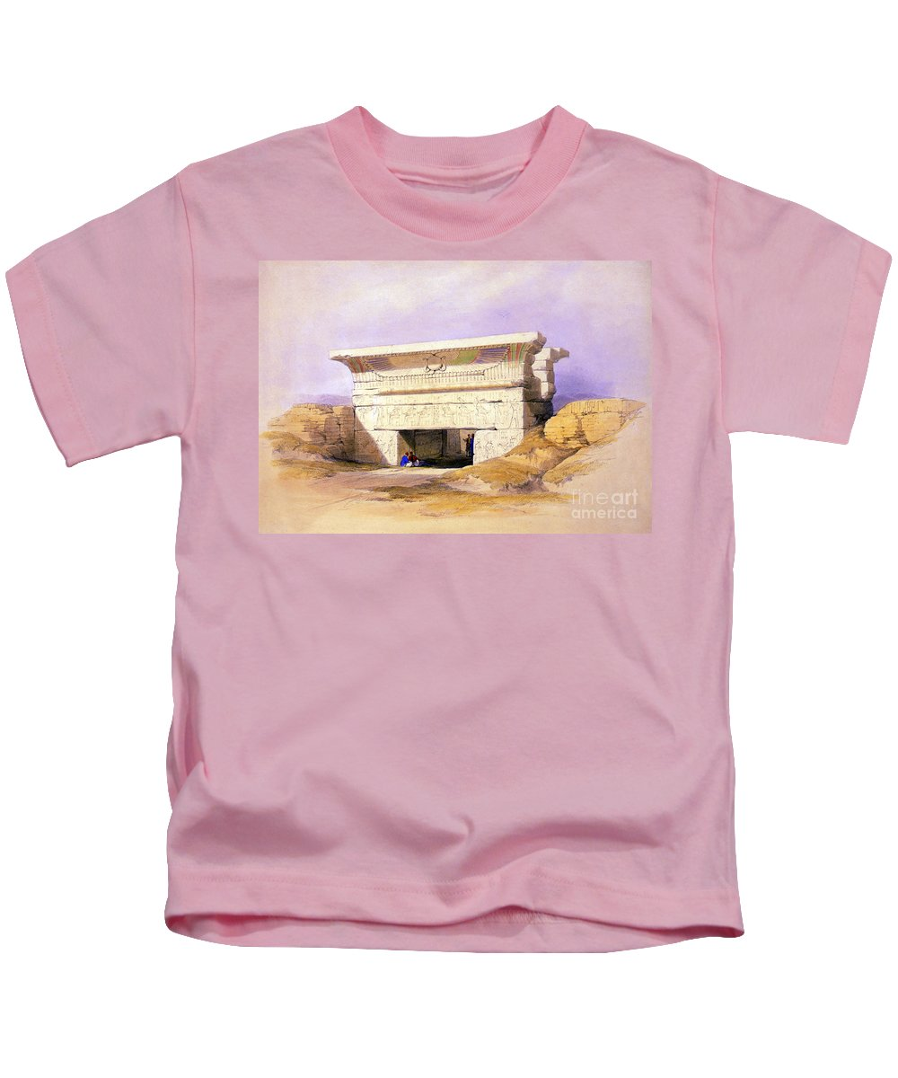 Science Kids T-Shirt featuring the photograph Dendera Temple Complex, 1938 by Science Source