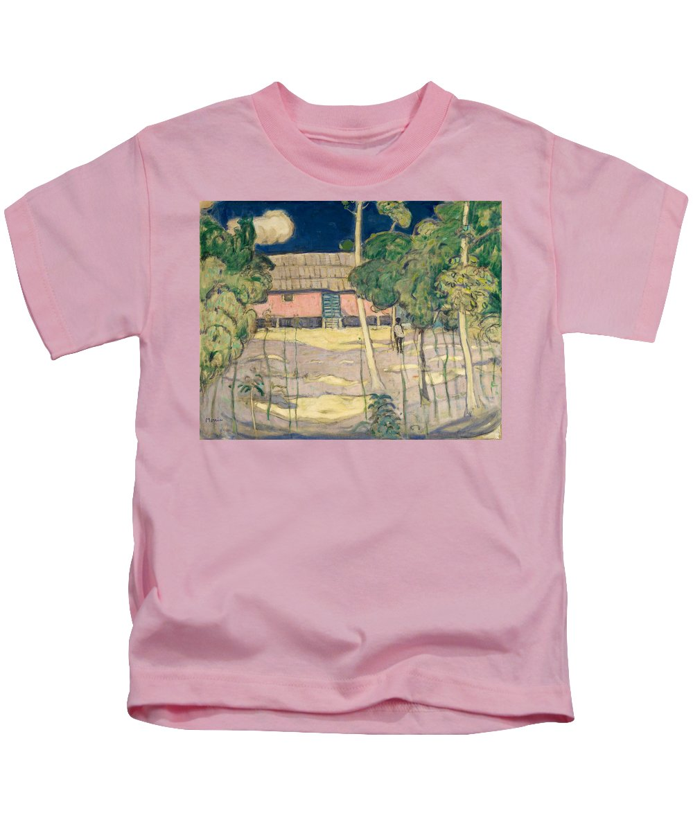 James Wilson Morrice Kids T-Shirt featuring the painting Landscape Trinidad by James Wilson Morrice