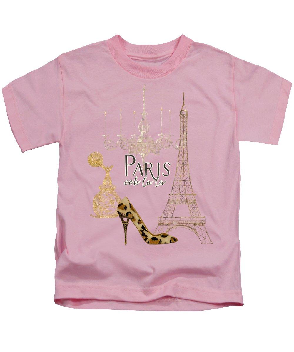 Eiffel Tower Kids T-Shirts