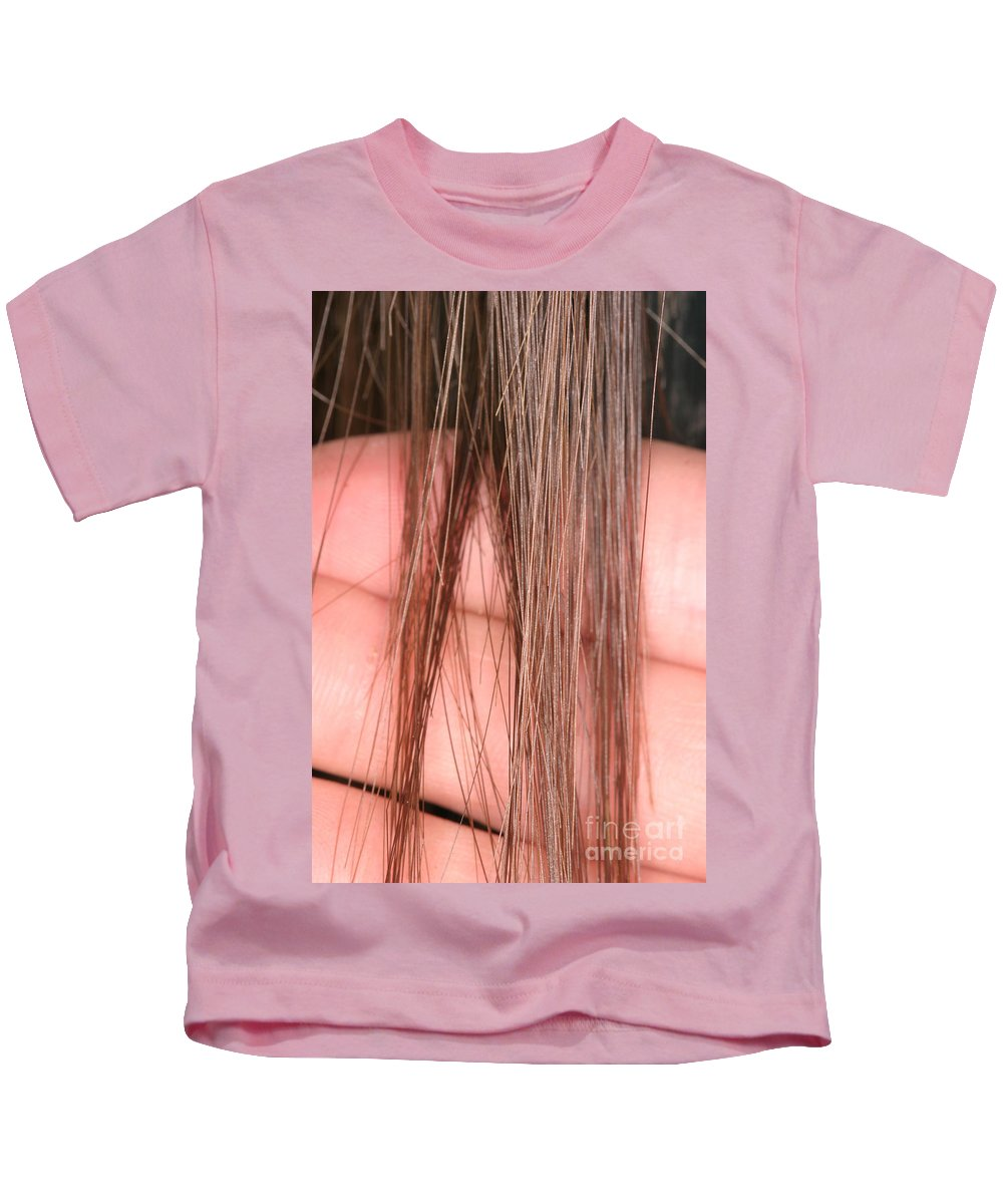 Fauna Kids T-Shirt featuring the photograph Right Whale Baleen by Ted Kinsman