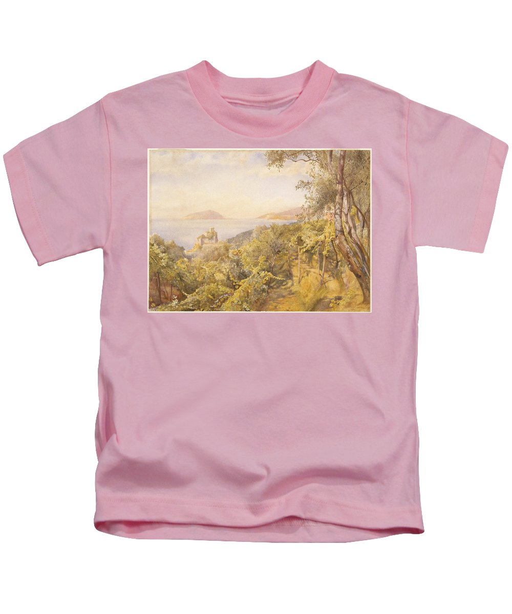 Henry Roderick Newman (american Kids T-Shirt featuring the painting The Priest Garden by Henry Roderick