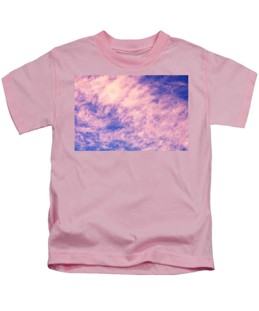 Clay Kids T-Shirt featuring the photograph Clouds by Clayton Bruster