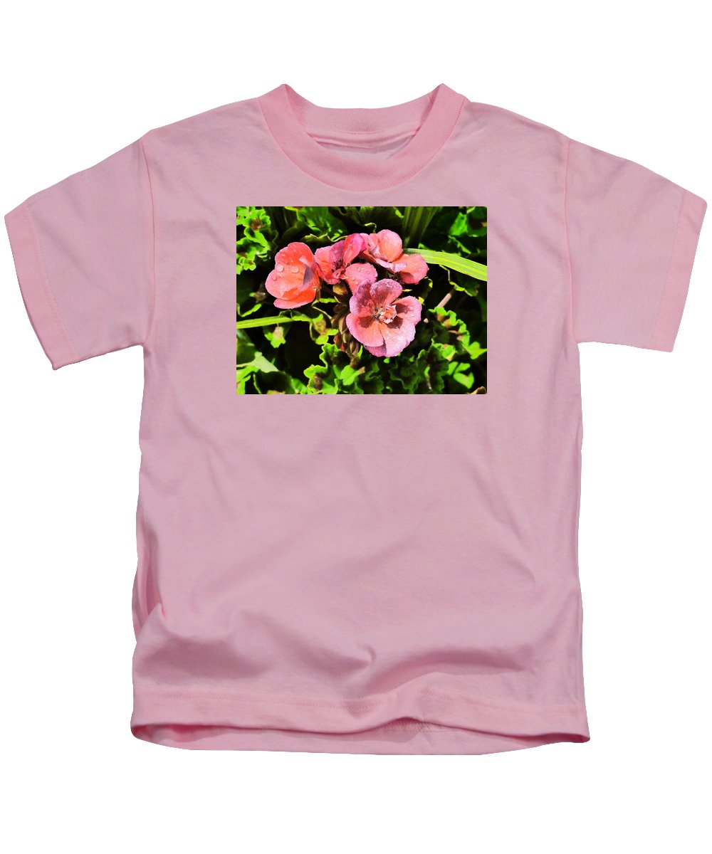 Flower Garden Idaho Photography Kids T-Shirt featuring the photograph Real Real Gone by Paul Stanner