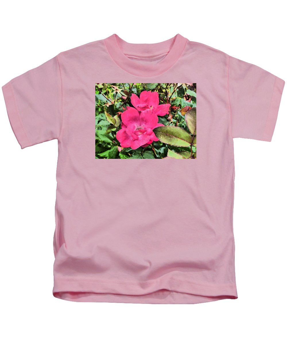 Flowers Gardens Idaho Photography Kids T-Shirt featuring the photograph Still by Paul Stanner