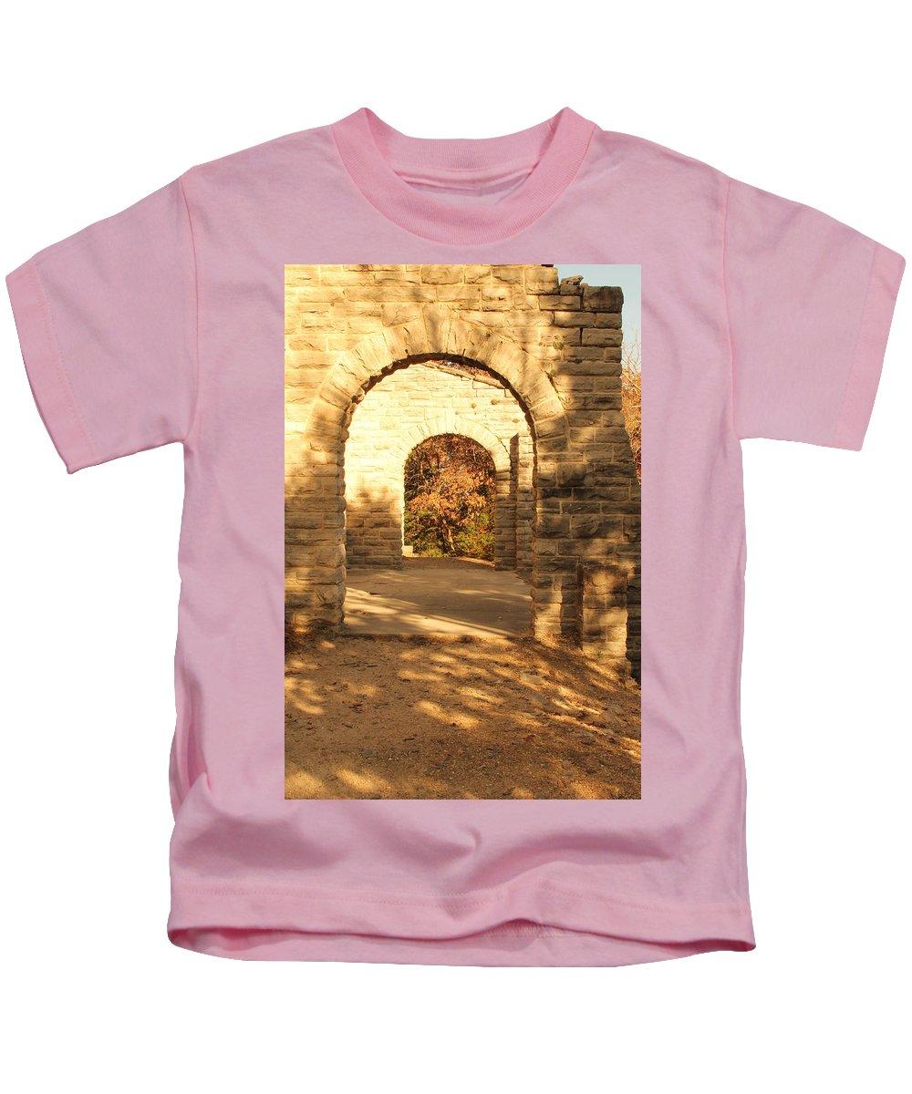 Ha Ha Tonka Kids T-Shirt featuring the photograph Ha Ha Tonka by Michael Munster
