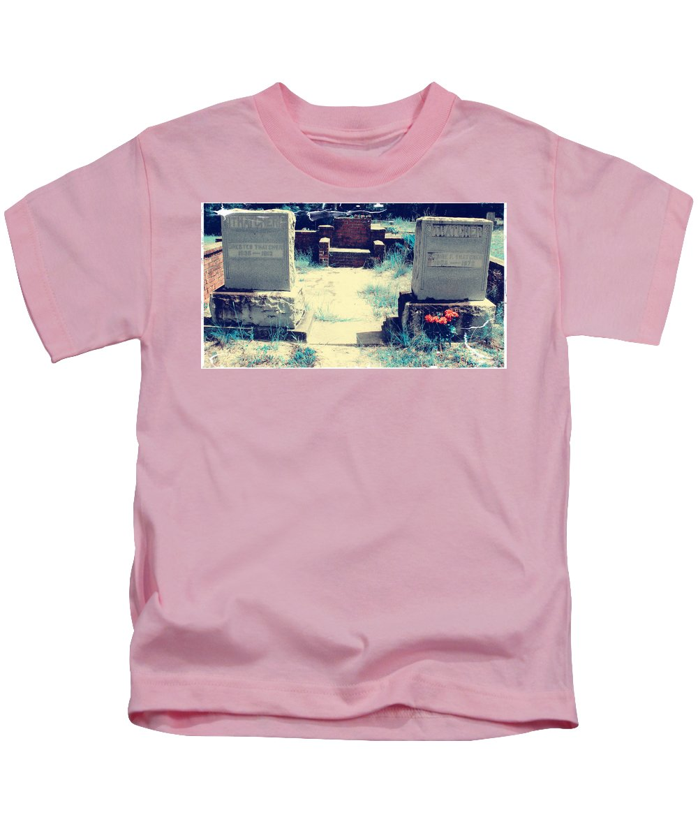 Shannon Kids T-Shirt featuring the photograph A Bit Of Color by Shannon Sears