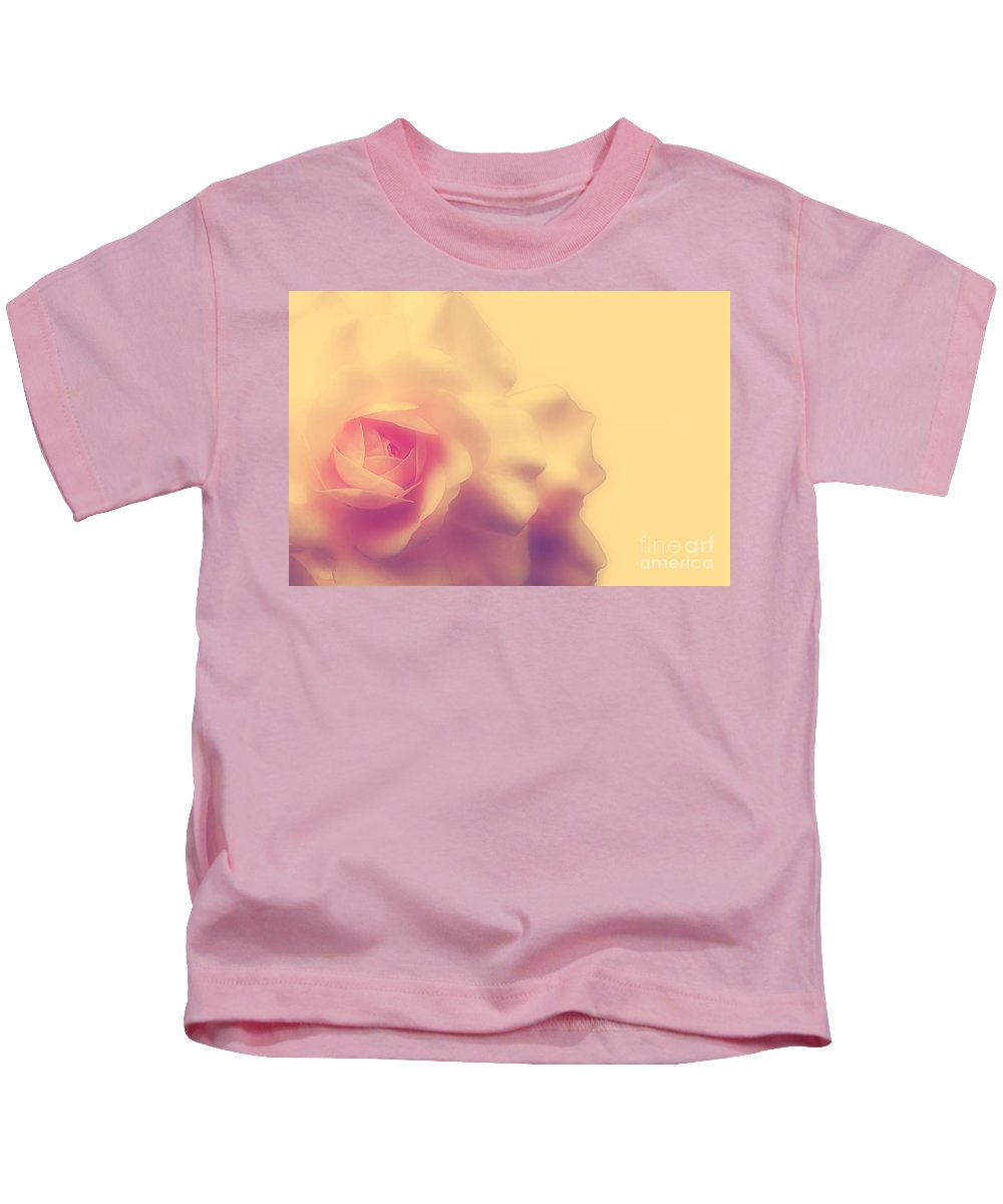 Rose Kids T-Shirt featuring the photograph A New Day by Lois Bryan