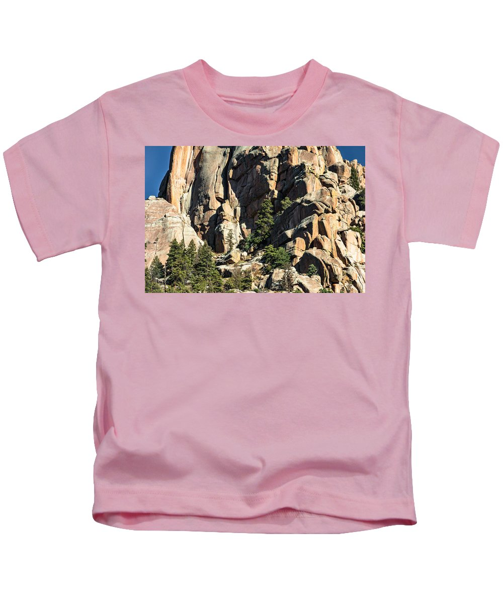 Cathedral Spires Kids T-Shirt featuring the photograph A Sheltered Place by Don Nelson