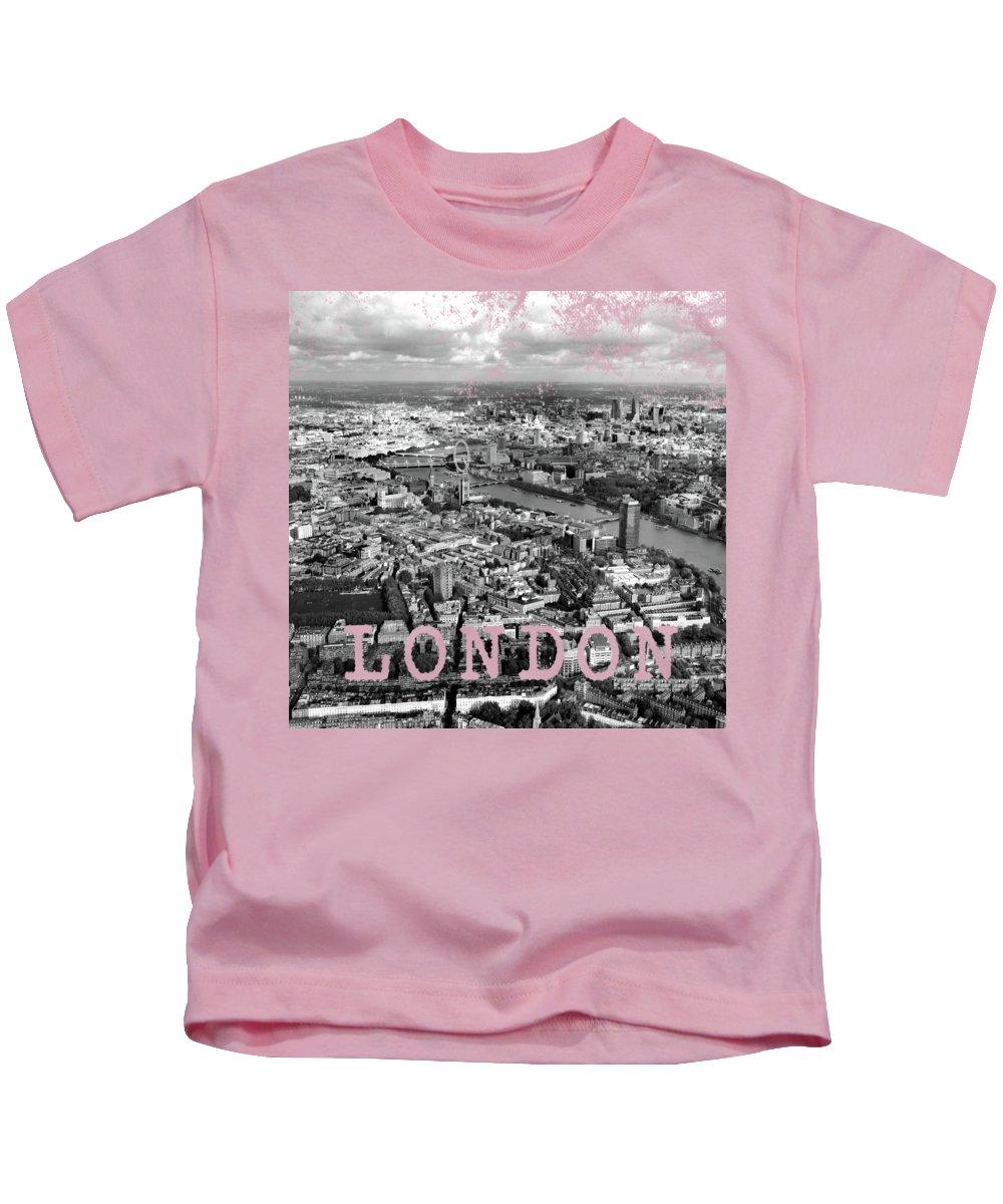 London Skyline Kids T-Shirts