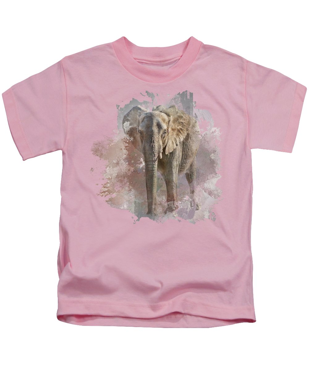 African Elephant Photographs Kids T-Shirts