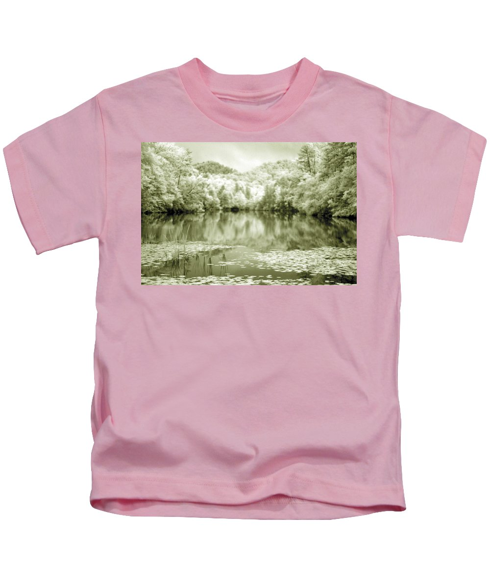 Infrared Kids T-Shirt featuring the photograph Another World by Alex Grichenko