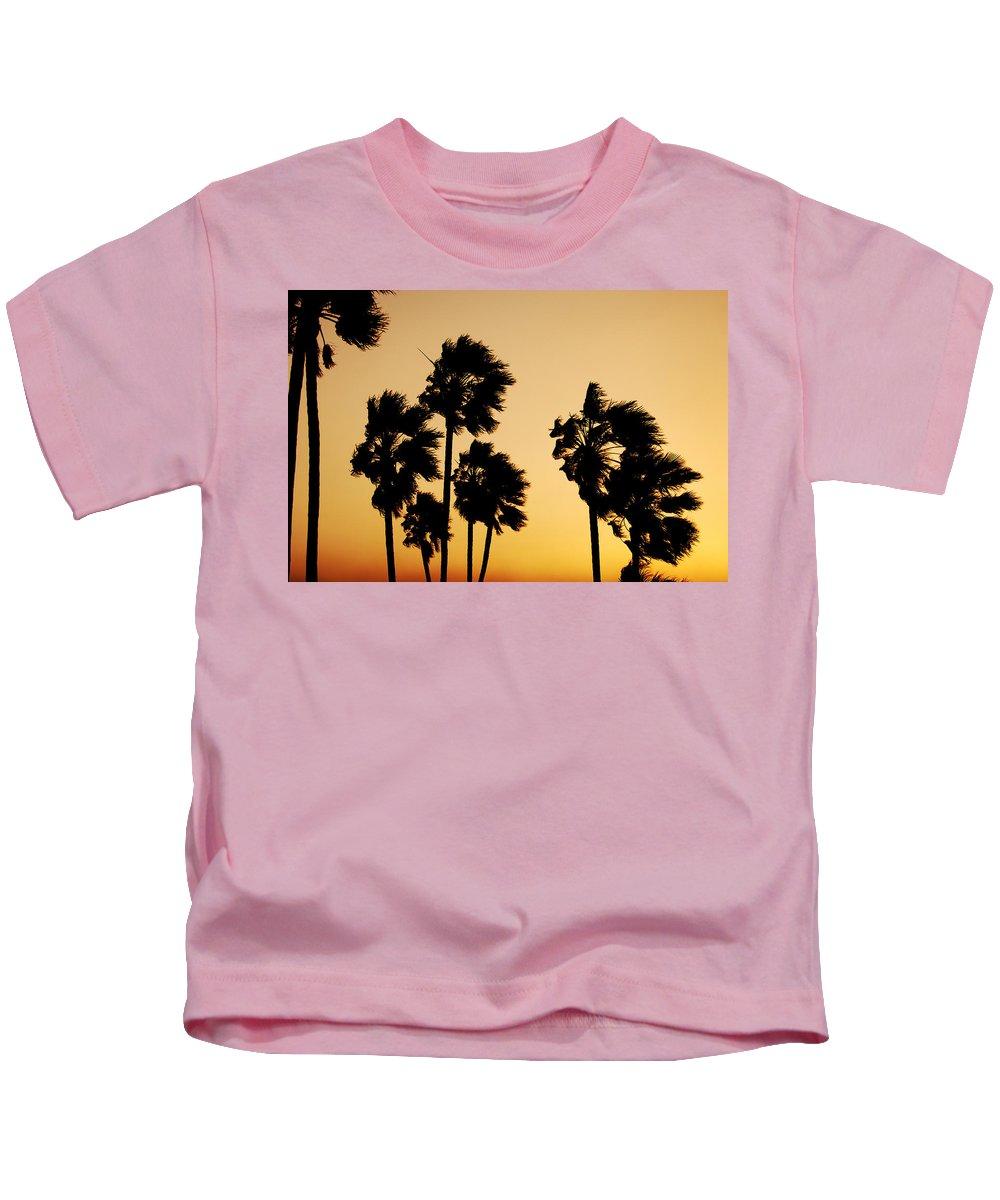 Arizona Kids T-Shirt featuring the photograph Arizona Dust Storm by Jill Reger