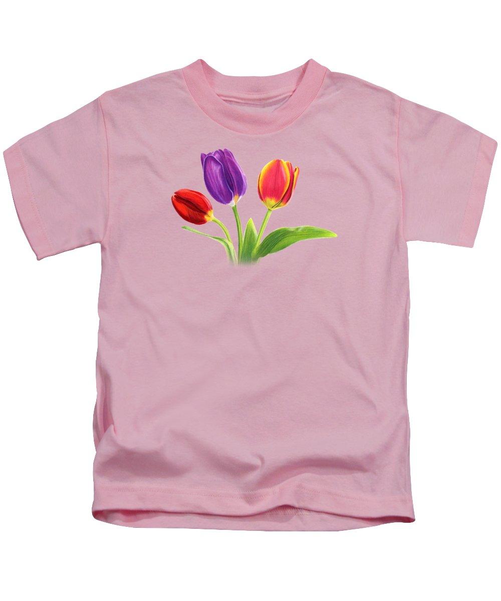 Tulips Kids T-Shirts