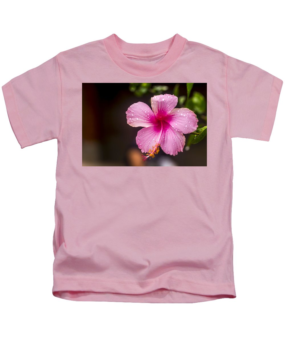 Architecture Kids T-Shirt featuring the photograph Bali Garden by Jijo George