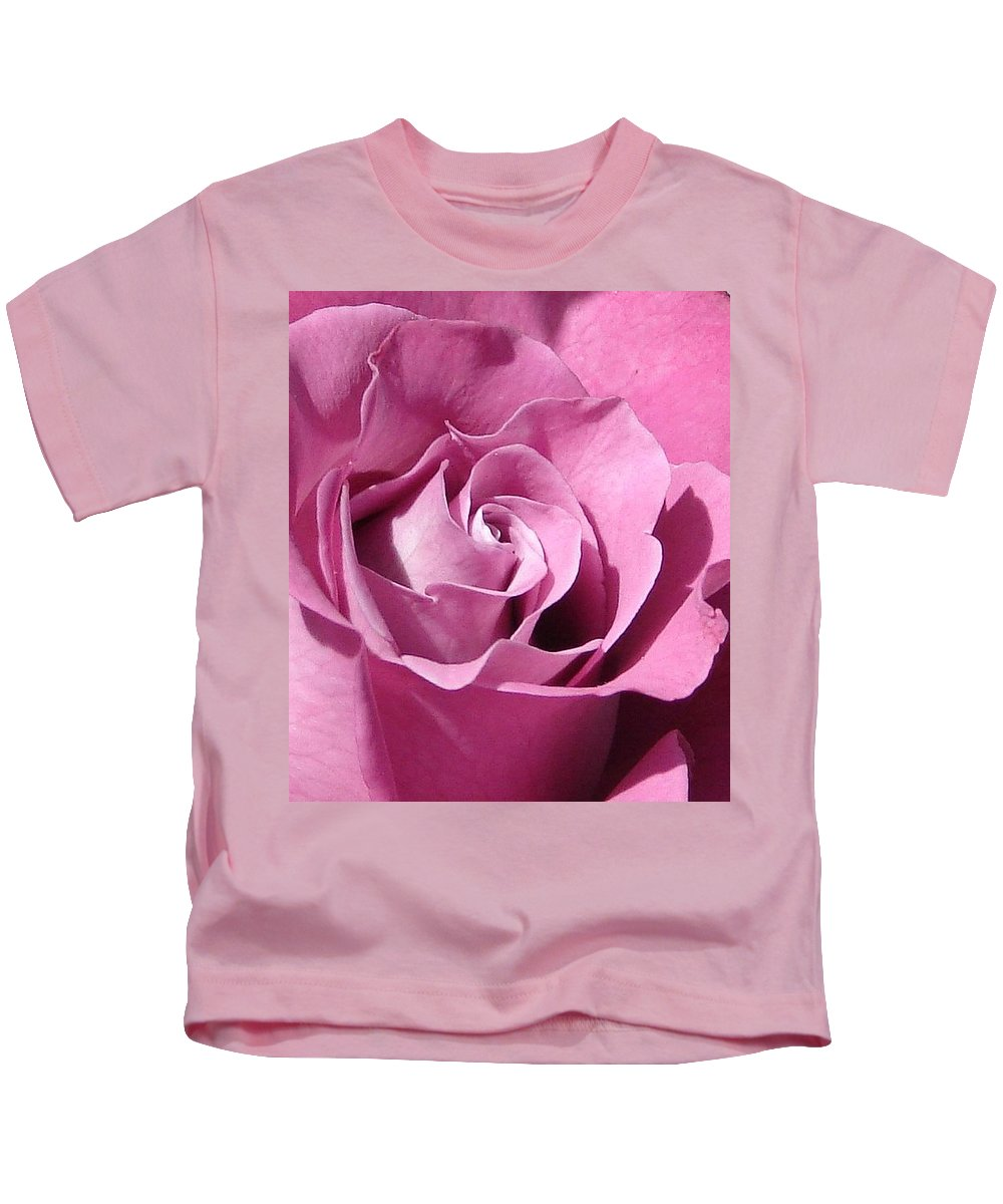 Rose Pink Kids T-Shirt featuring the photograph Big Pink by Luciana Seymour