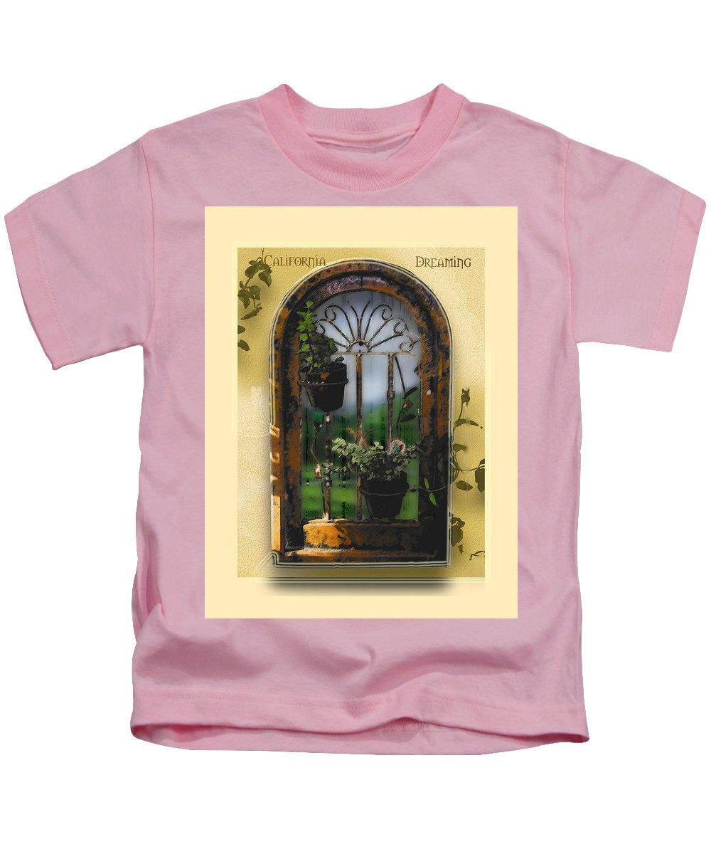 Abstract Kids T-Shirt featuring the photograph California Dreamin by Karen W Meyer