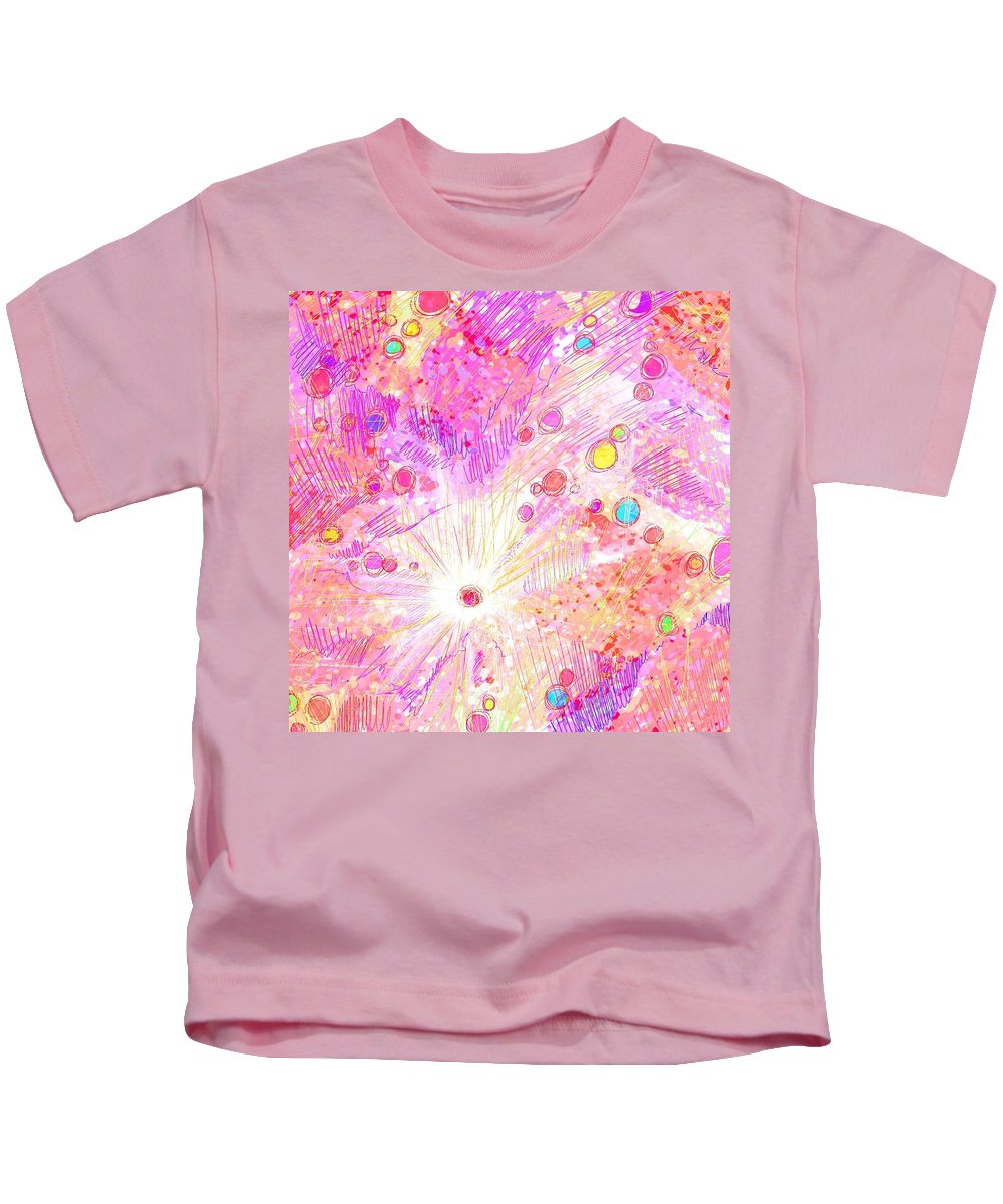 Abstract Kids T-Shirt featuring the digital art Chosen by Rachel Christine Nowicki