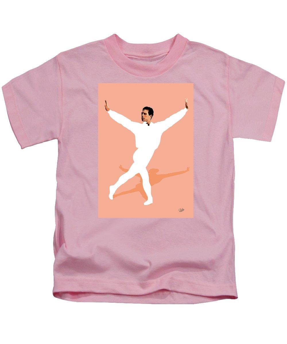 Dancer Kids T-Shirt featuring the digital art Ballet Master Dancer by Joaquin Abella