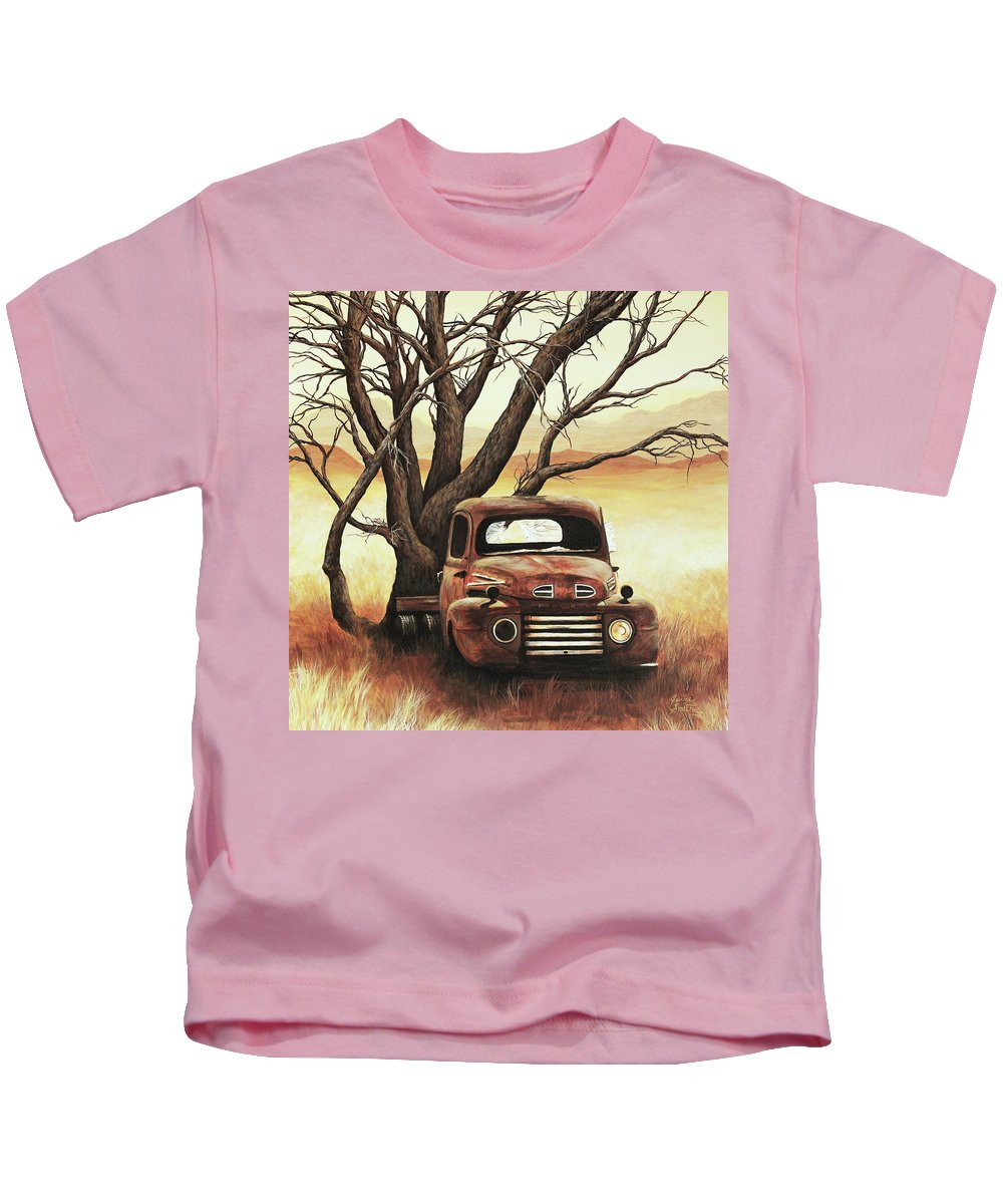 Old Kids T-Shirt featuring the painting Companion by Janice Smith