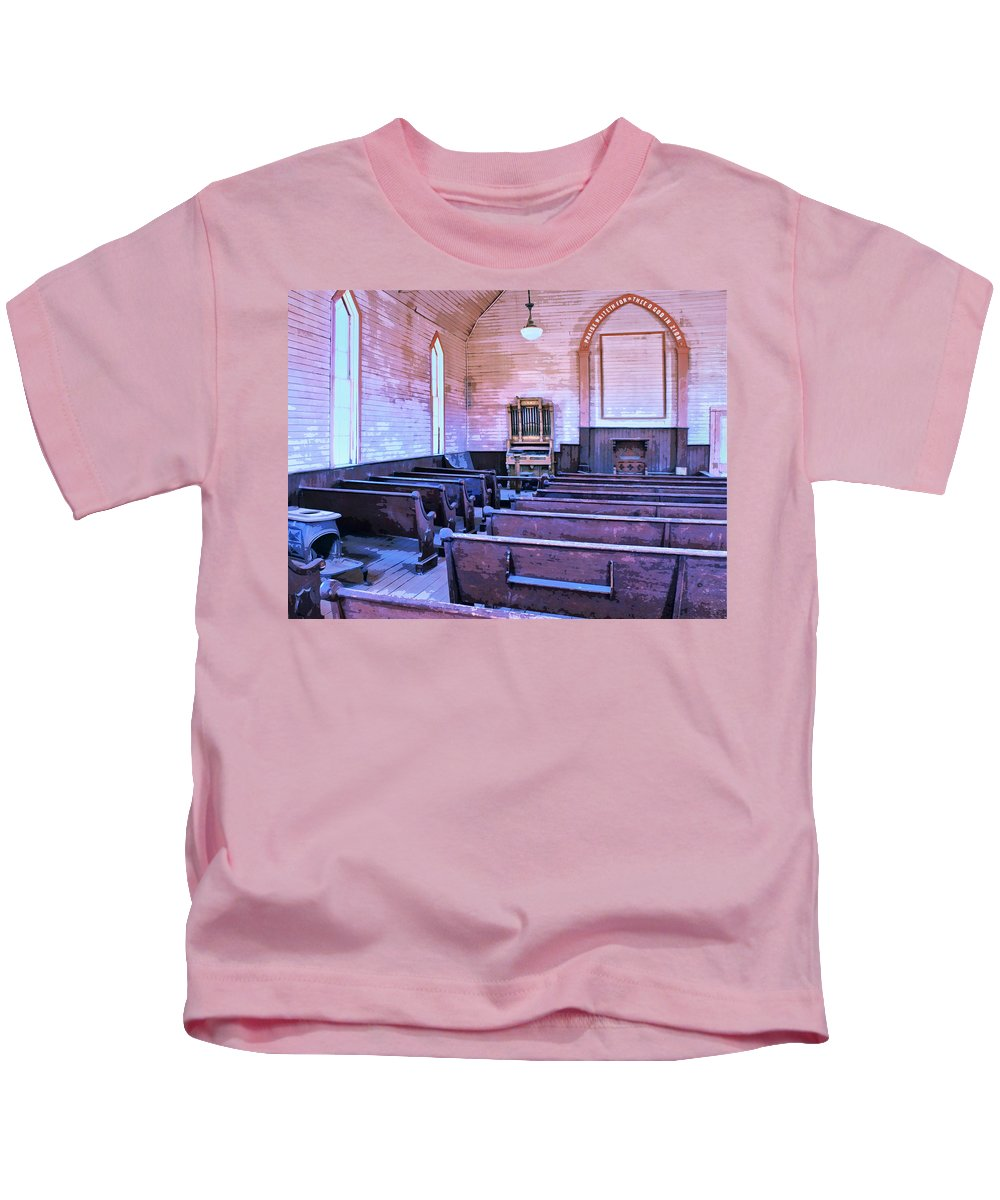 Bodie Ghost Town Mixed Media Kids T-Shirts