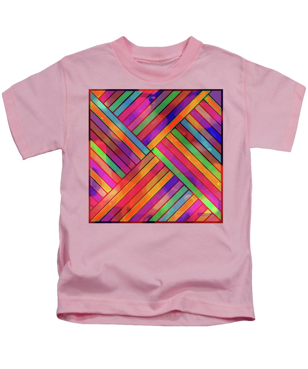 Diagonal Kids T-Shirt featuring the digital art Diagonal Offset by Diane Parnell