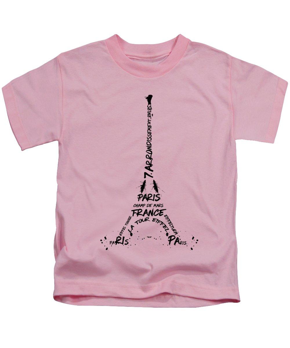 Paris Kids T-Shirts