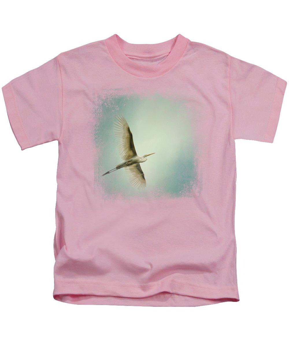 Egret Kids T-Shirts