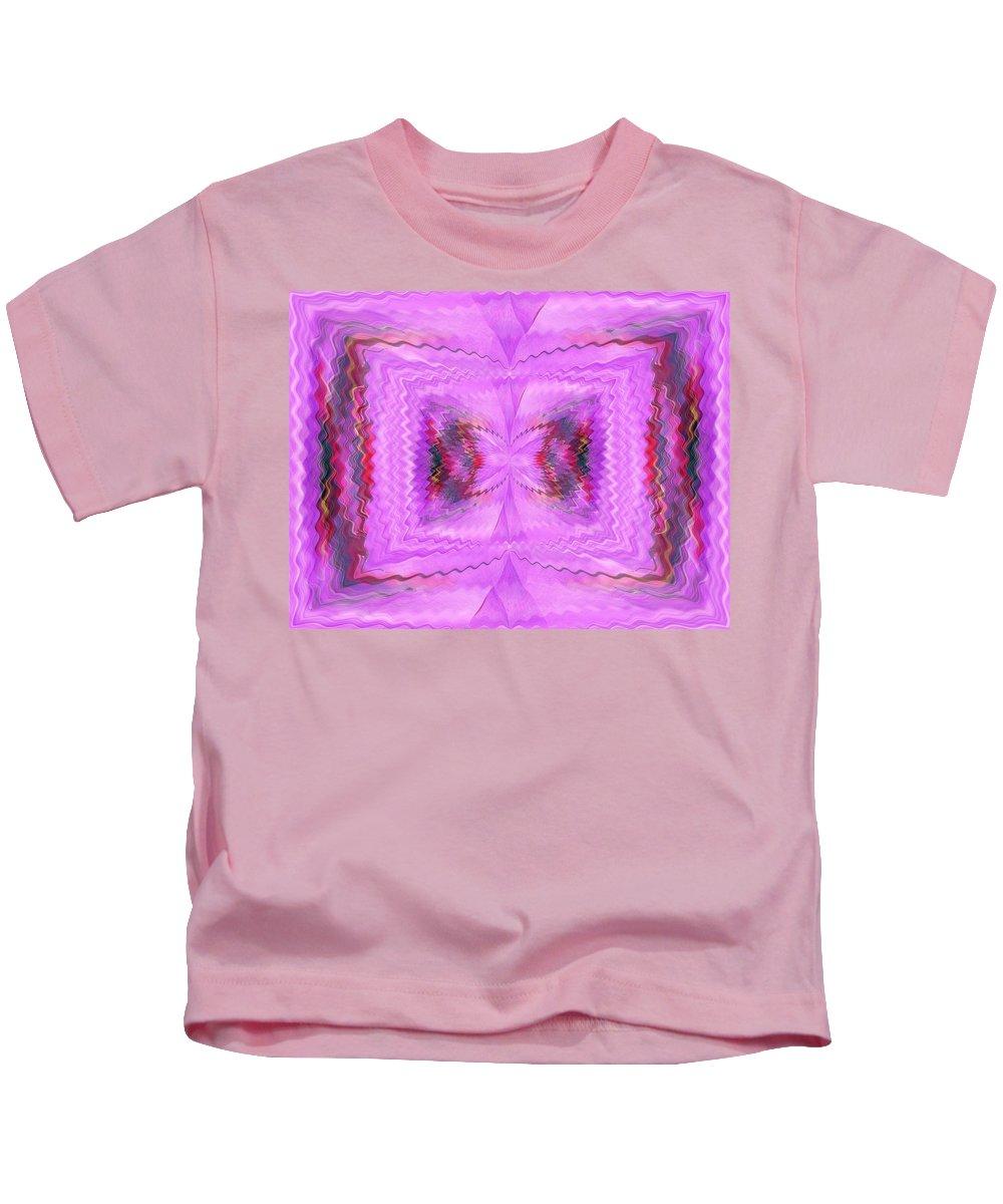 Eruption Kids T-Shirt featuring the digital art Eruption Within by Tim Allen
