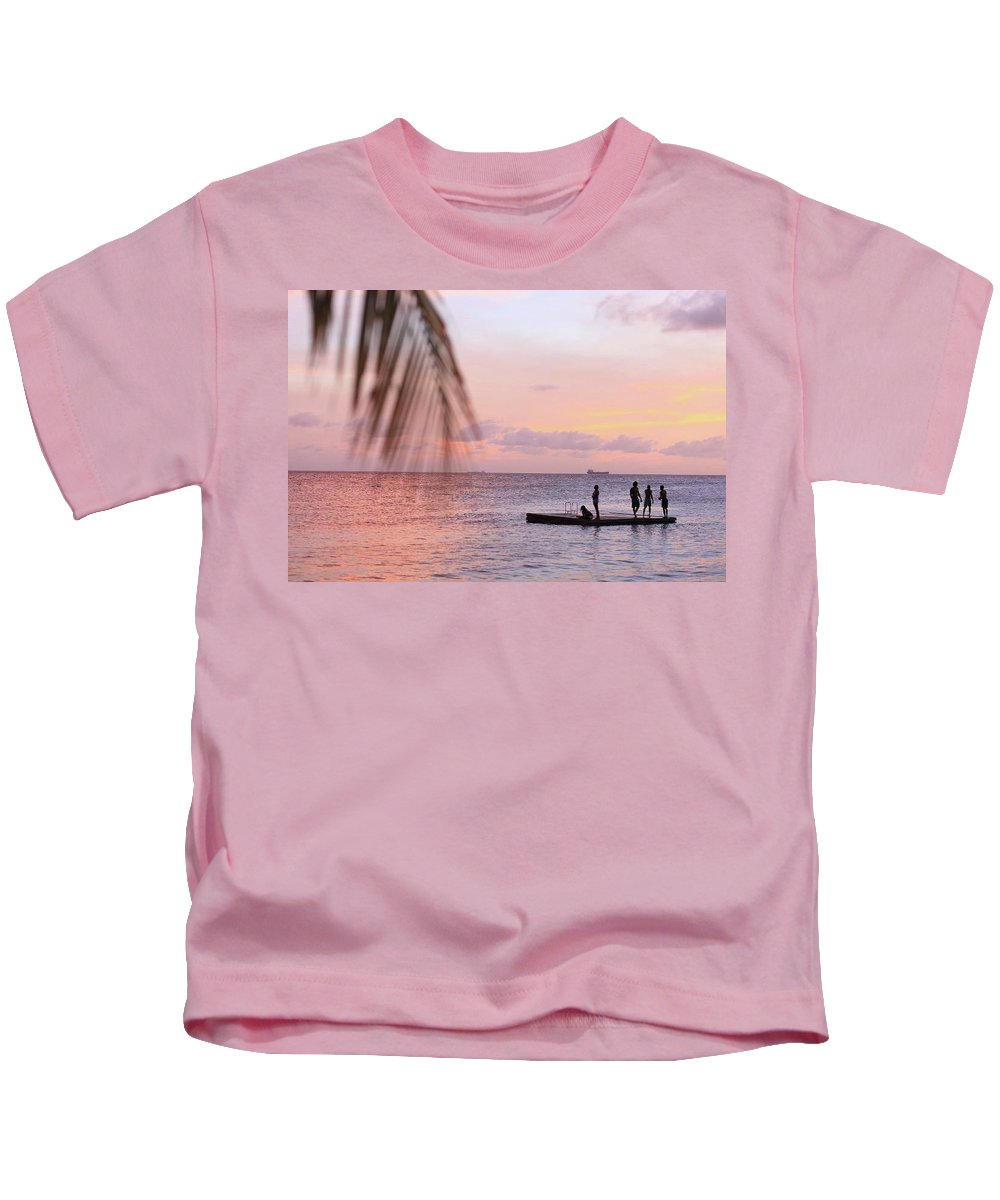 Landscape Kids T-Shirt featuring the photograph Floating Dream by Lucas Van Es