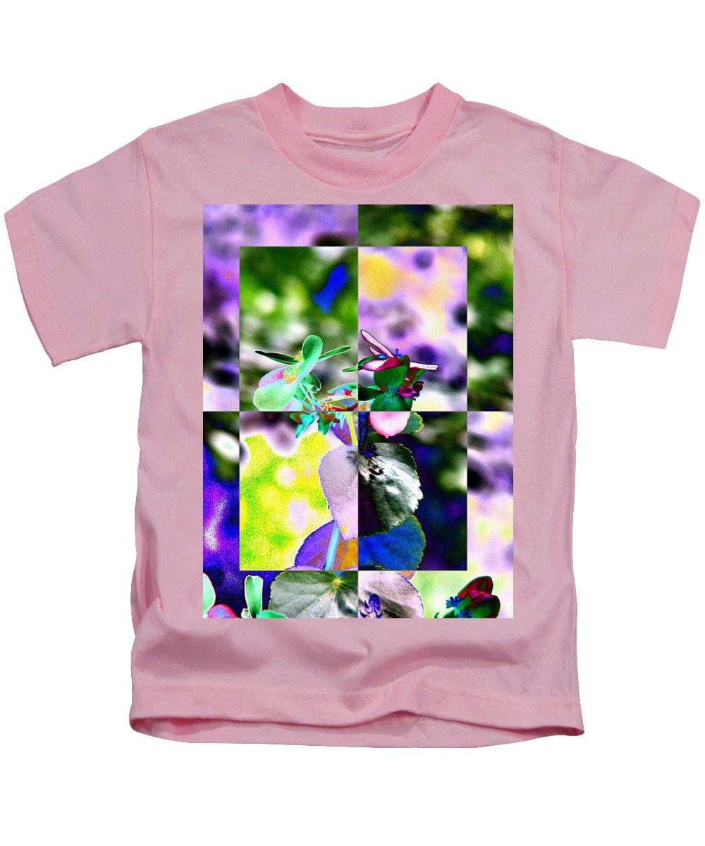 Flower Kids T-Shirt featuring the digital art Flower 2 by Tim Allen