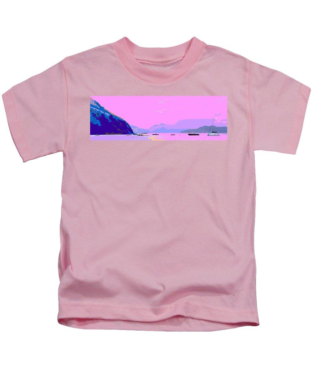 Frigate Kids T-Shirt featuring the photograph Frigate Bay Morning by Ian MacDonald