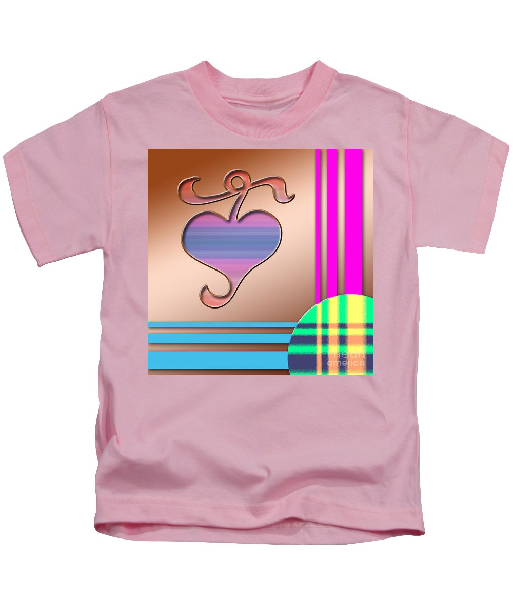 Clay Kids T-Shirt featuring the digital art Gift Of Love by Clayton Bruster