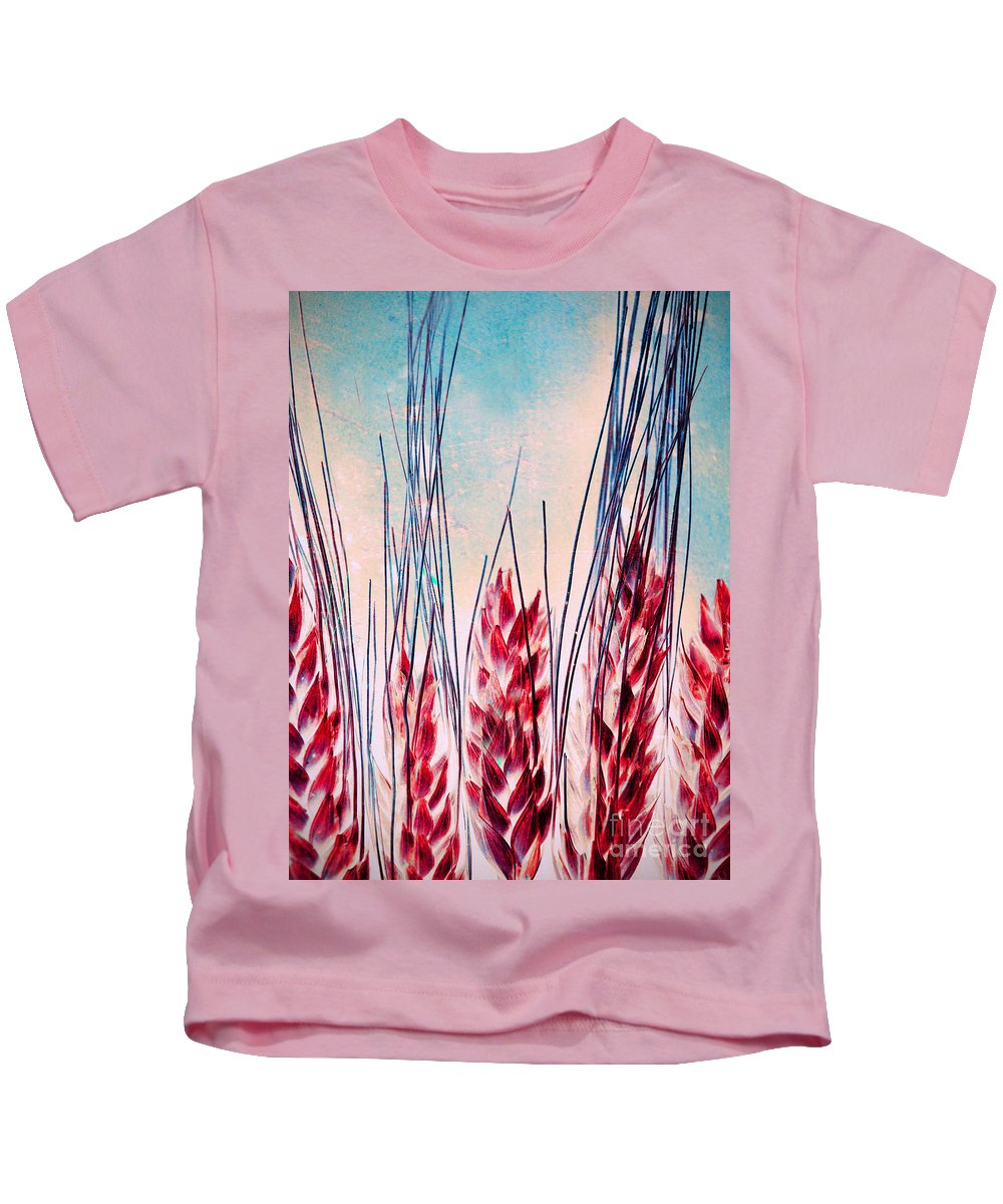 Grass Kids T-Shirt featuring the photograph Grass Abstract by Tara Turner