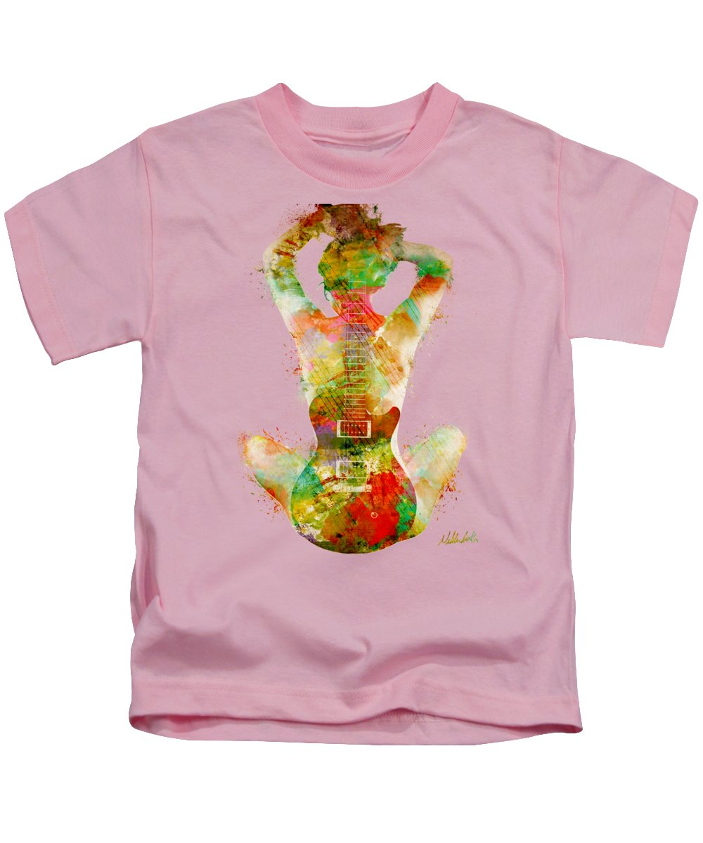 Abstract Music Kids T-Shirts