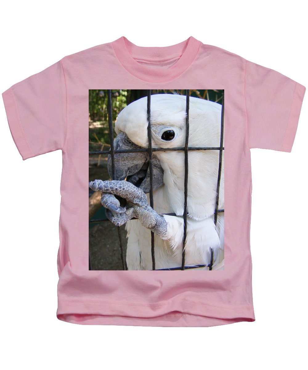 Bird Kids T-Shirt featuring the photograph Hand Me The Key Please by Ed Smith